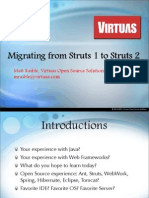 Migrating From Struts 1 to Struts 2