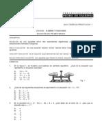 UNIDAD Álgebra y Funciones - Ecuación de Primer Grado