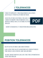 Position Tolerances