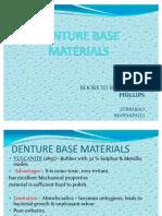 Denture Base Materials Ppt