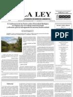 Suplemento La Ley Derecho Ambiental Nov 2011.