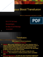 Auto Logo Us Blood Transfusion