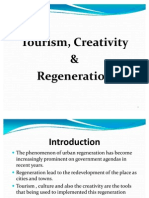 Tourism, Creativity & Regeneration