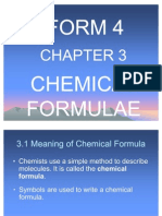 Presentation Power Point TKP 5014 Chemical Formula