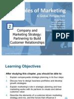 Principles of Marketing - Company & Marketing Strategies