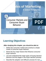 Principles of Marketing - Consumer Markets & Consumer Buyer Bahvior