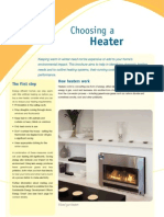 Choose a Heater May 2009