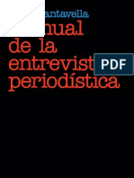 Cantavella Juan - Manual de La Entrevista a