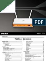 Unifi Modem Manual - D-link DIR-615