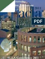 ACLA 2011 Program