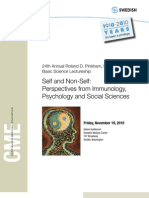 Self and NonSelf Brochure 2010