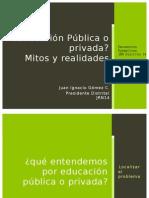 ¿Educación Pública o Privada? Mitos y Realidades
