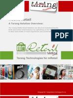 Tarang Retail Offering Solution Brochure