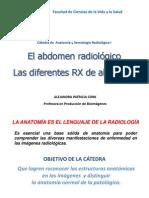 6. El abdomen radiológico. Los diferentes RX de abdomen