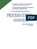 COREX- SIDERURGIA