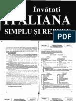 Invata Italiana Simplu Si Repede