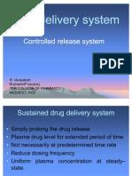 Control Drug Delivery System