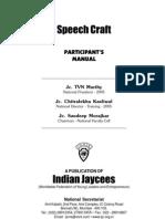 Speech Craft Participant