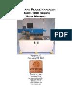 Model 900 Manual
