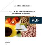 56700963 Indian Edible Oil Industry Report by Anil