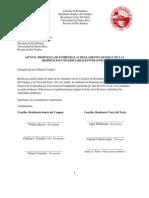 Carta Entrega de La Propuesta 18 Mayo de 2011
