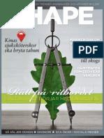 SCA magasin SHAPE 2 / 2011 fokuserar på hållbar designprocess