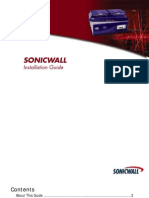 Sonicwall Installation Guide