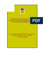 Txcindia.gov.in - Report on Medical Textiles