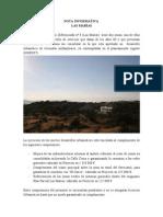 NOTA INFORMATIVA SOBRE LAS MARÍAS #Torrelodones