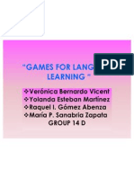 Games for Language Learning'