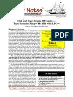 Disk vs Tape- LTO4 Tape on Top