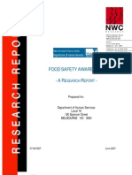 07food Safety Awareness Report