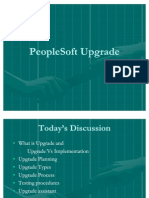 People Soft UpGrade Process