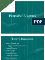 People Soft UpGrade Process