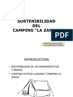 Sostenibilidad de Un Camping