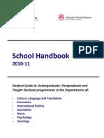 A School Handbook 2010-11 Final