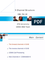 CDMA2000 1x Channel Structure