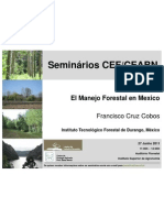 Seminário de Francisco Cobos