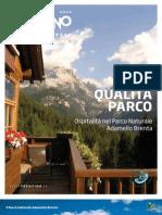 QUALITÀ PARCO Ospitalità nel Parco Naturale Adamello Brenta
