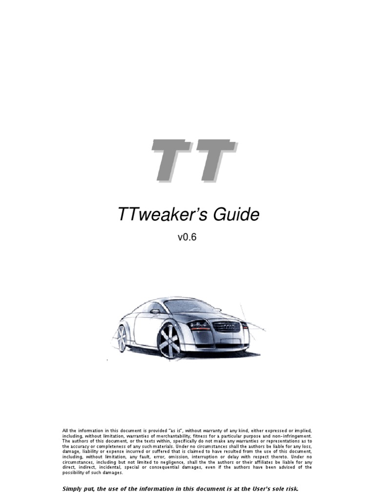 audi tt tweaks turbocharger throttle rh scribd com Audi TT Convertible 2005 Audi TT Coupe
