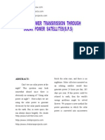 Wireless Power Transmission Through Solar Power Satellites