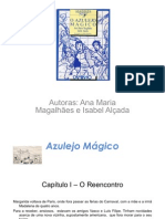 Azulejo Mágico Exploração do livro