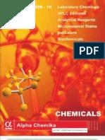 Price List Chem 2009 10