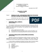 Finance Act - 2007