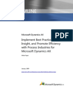 Dynamics Ax Best Practices