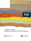 Anthropology Writing Guide 2010