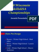 2010 SkillsUSA Award Ceremony