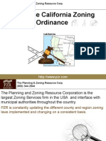 San Jose California Zoning Ordinance