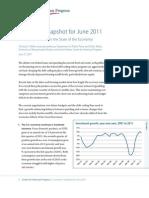 Economic Snapshot for June 2011