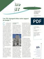 Emerit 58 - Les Tic Changent-Elles Notre Rapport Au Temps ?